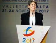 Helen Clark addresses CLGC2017