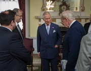 HRH The Prince of Wales meets local government leaders