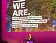 CLGF attends LGNZ conference